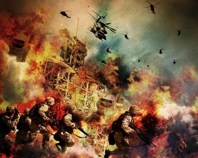 מלחמה צבאית